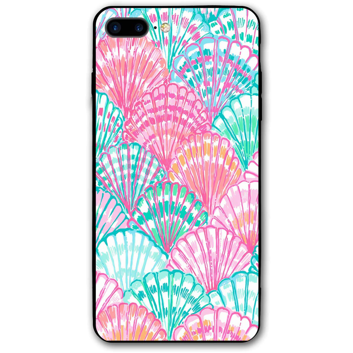 best website fa708 f762b Amazon.com: iPhone 7/8 Plus Case Lilly Pulitzer Oh Shello Printed ...
