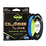 SeaKnight Classic 4 Strands Braided Fishing Line 300m/327 yards Super Braided Line Thinner,Stronger and Smoother Fishing Line 6-80 Lbs