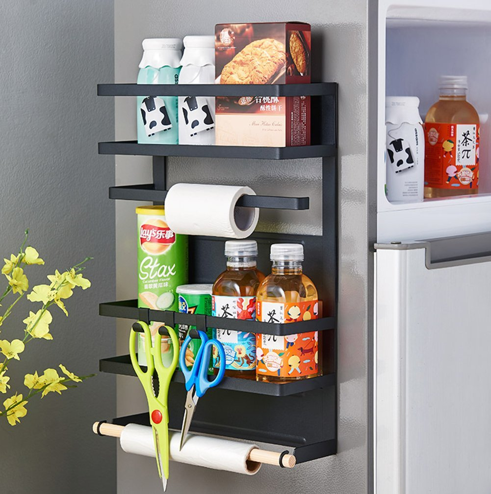 Hängendes Regal Für Kühlschrank Lagerregal Mehrschichtiges Sidewall ...