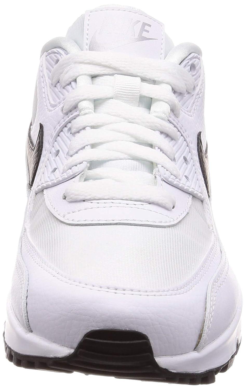 info for 86423 dcb1d Nike Damen WMNS Air Max 90 Gymnastikschuhe, Bianco Grigio Nero  Amazon.de   Schuhe   Handtaschen