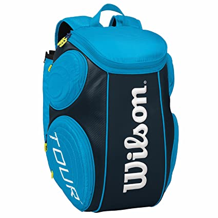 Wilson Tour Molded - Mochila , color azul, talla NS