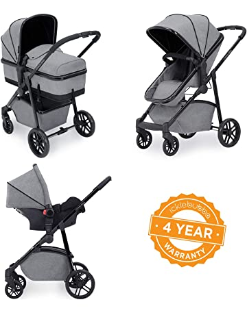 c8e822431c51 Ickle Bubba Stroller, Baby Travel System | Bundle incl Rear and  Forward-Facing Pushchair