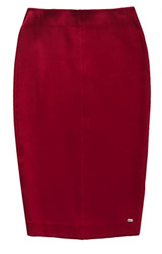 Superdry Damen Rock Natasha Ponte Pencil Skirt