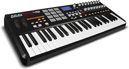 AKAI MPK49 - Controlador de teclado USB/MIDI (49 teclas)