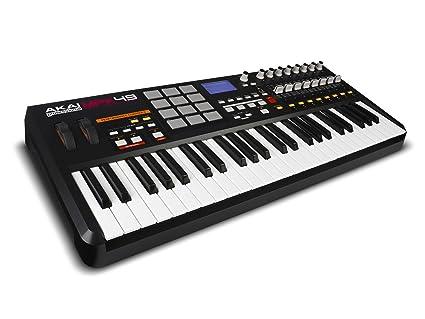 Akai MPK49 USB/MIDI controlador de teclado (49 teclas)