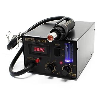 Aoyue int852SMD 0IRHP100A-03Station Estación de soldadura de aire caliente digital con
