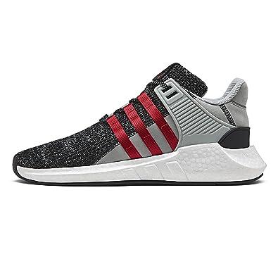 Adidas hombre  overkill EQT apoyo futuro negro / rojo blanco