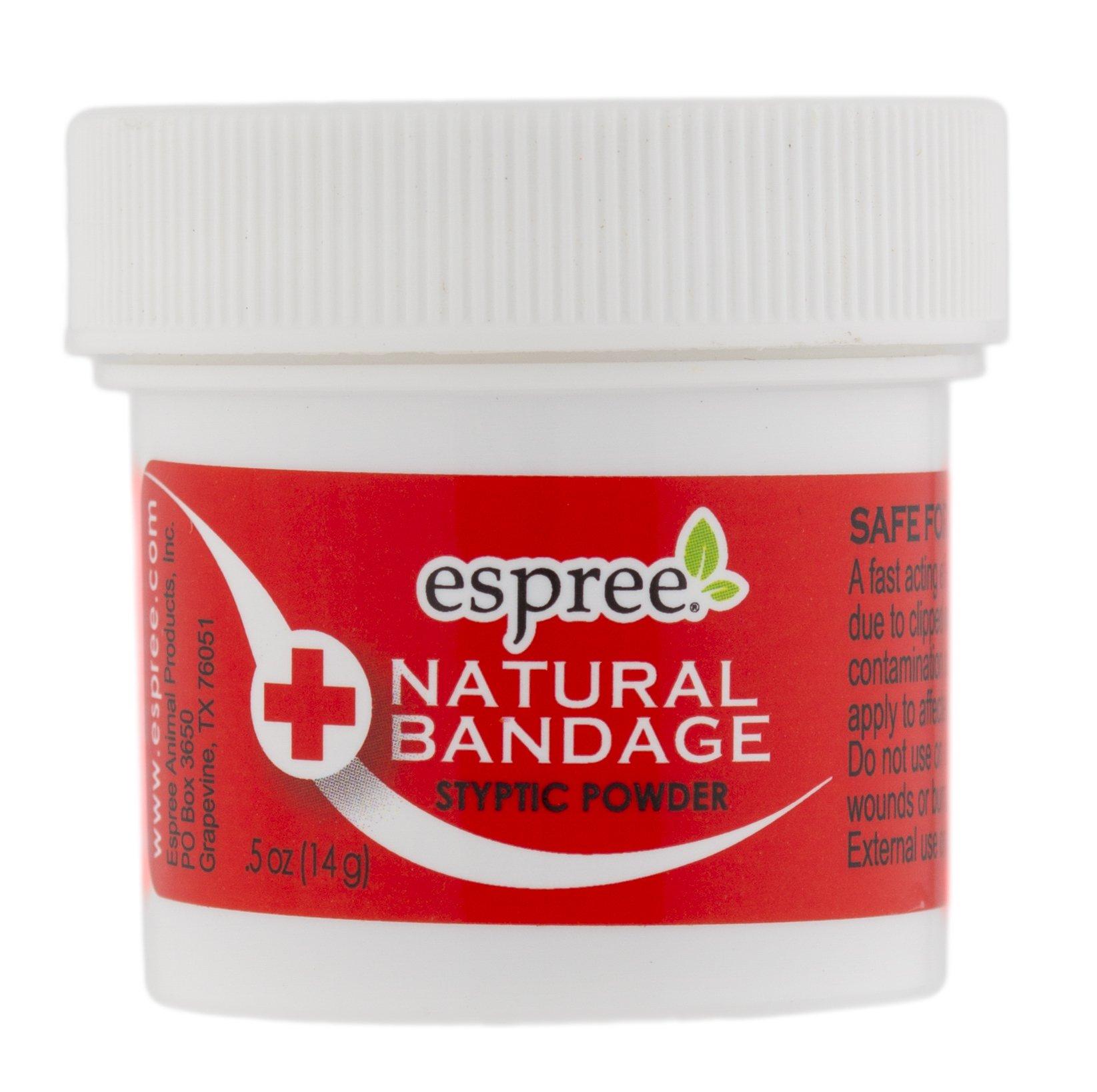 Espree Natural Bandage Styptic Powder, 0.5 oz by Espree
