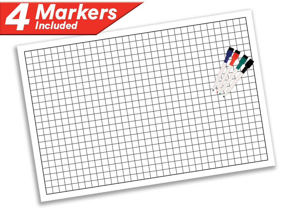 Battle Grid Game Mat 36 Quot X 24 Quot 1 Inch Role Playing Dnd