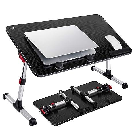 Amazon.com: SAIJI - Escritorio para ordenador portátil, mesa ...