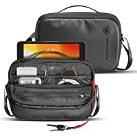 tomtoc Bolso de hombro para hombre con organización inteligente para accesorios electrónicos H02-A