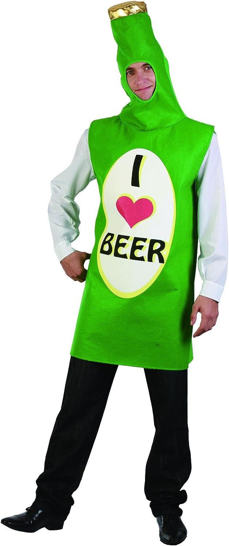Disfraz botella de cerveza adulto - Única: Amazon.es: Juguetes y ...