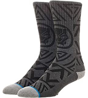 ed0c31150 Amazon.com: Marvel Mens Crew Cut Socks - Black Panther Groot Thanos ...