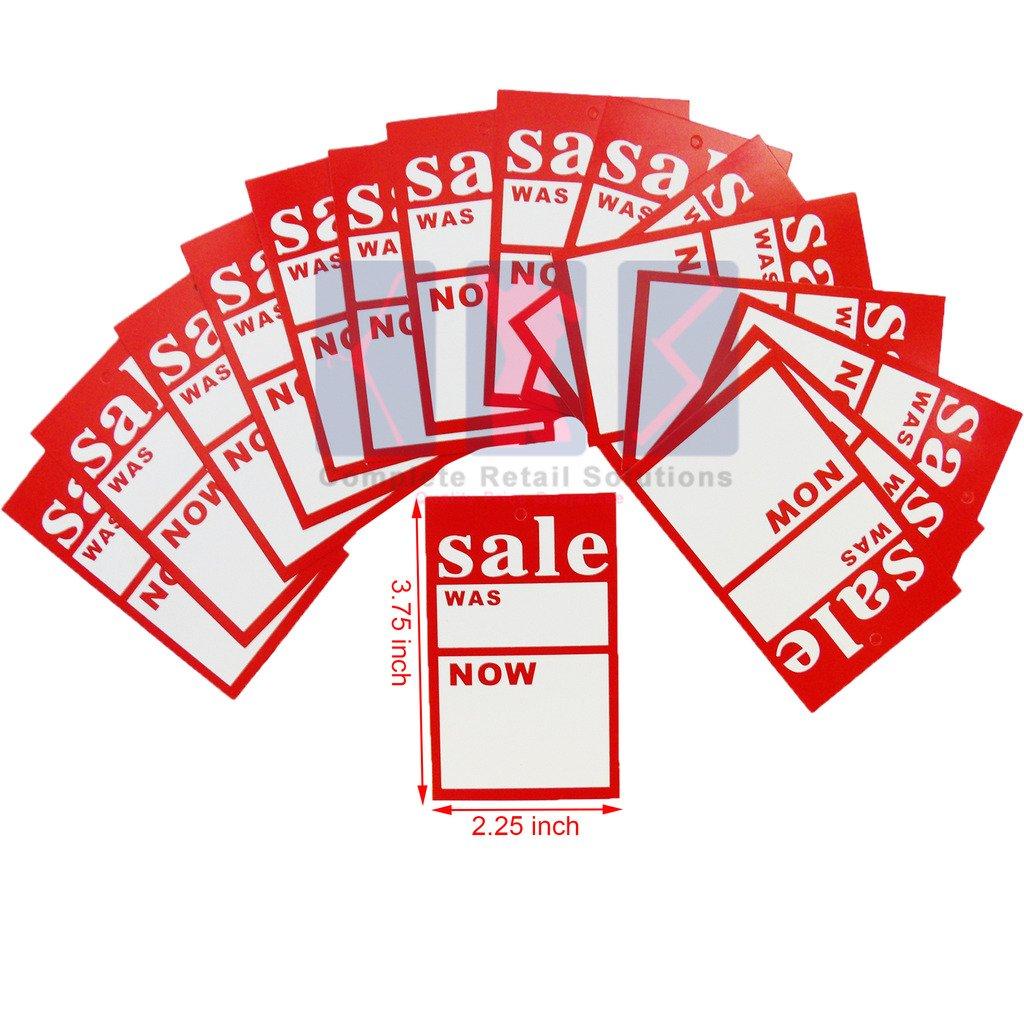 Nuovo vendita era//Ora Di alta qualit/à prezzo etichetta tag per schede di vendita Free P /& P 100x Large