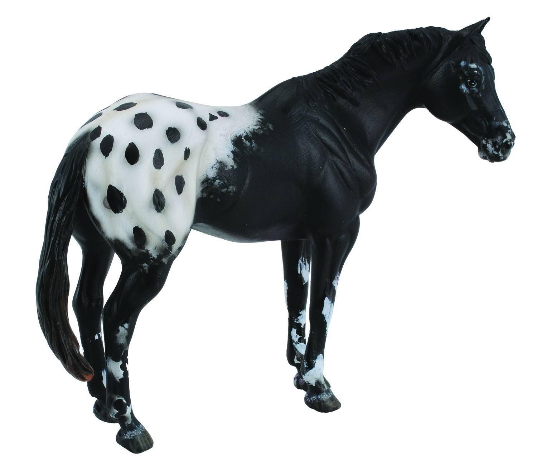 Collecta Black Appaloosa Stallion