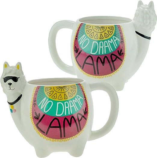 Sheepworld Motif Mug Dolomite Lama-NO DRAMA LLAMA 500 ML
