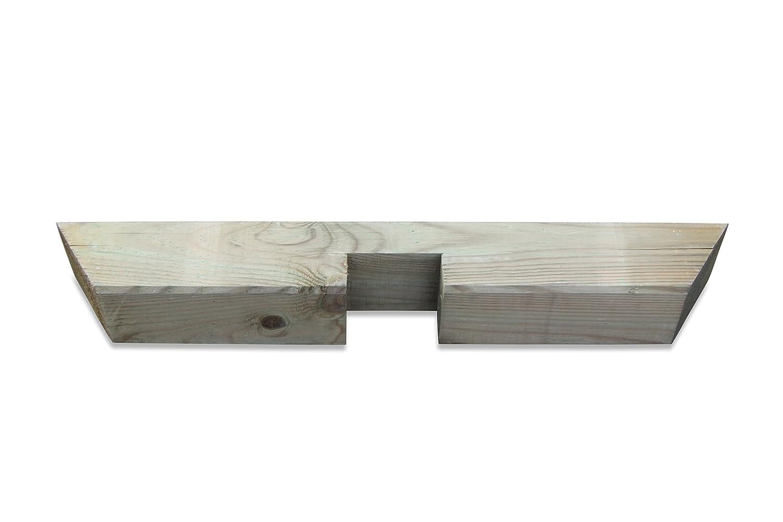Pergola único Jinete de madera b4, 5 X H9 X L65 cm: Amazon.es: Jardín