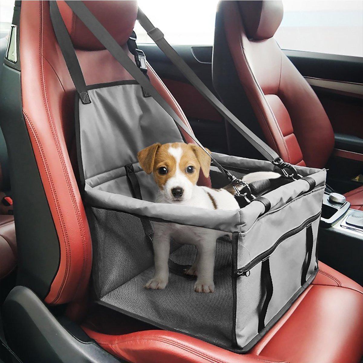 PETCUTE Autositz f/ür Hunde Faltbar Hundedecke Auto hundesitz Autoschondecke f/ür Hunde Autositz F/ür Haustier
