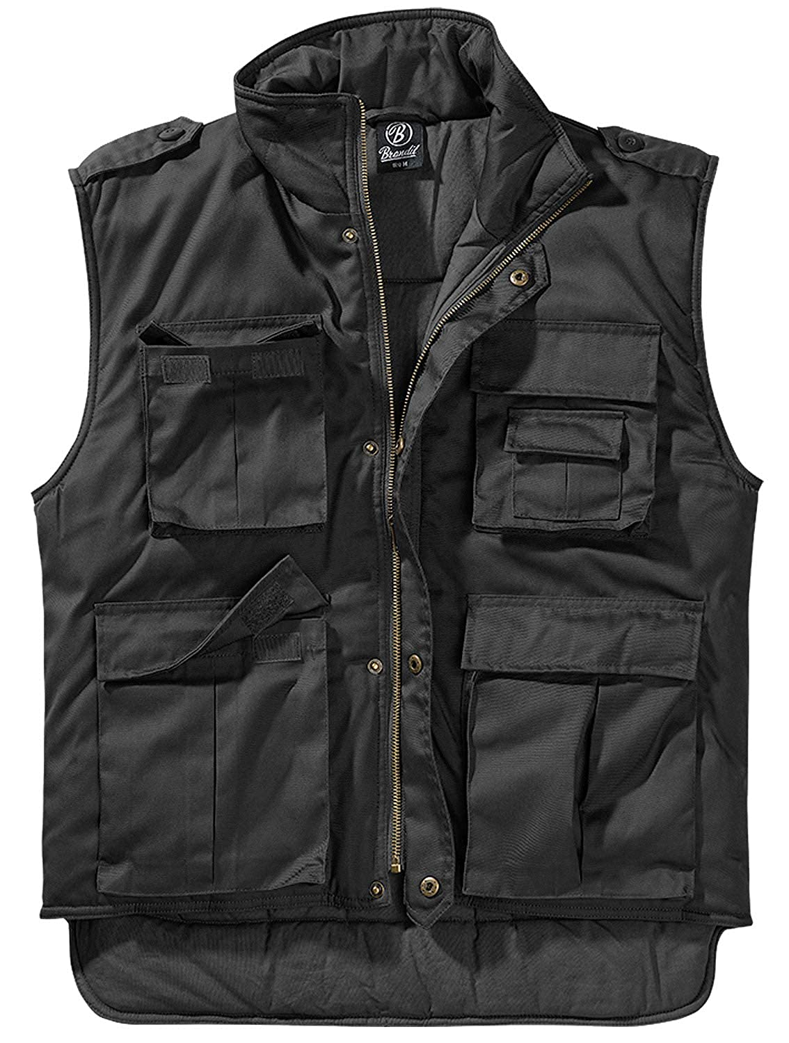 Brandit Ranger Vest Black, Medium