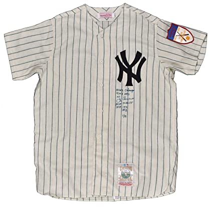 04441c79efc Image Unavailable. Image not available for. Color  Signed Yogi Berra Jersey  ...