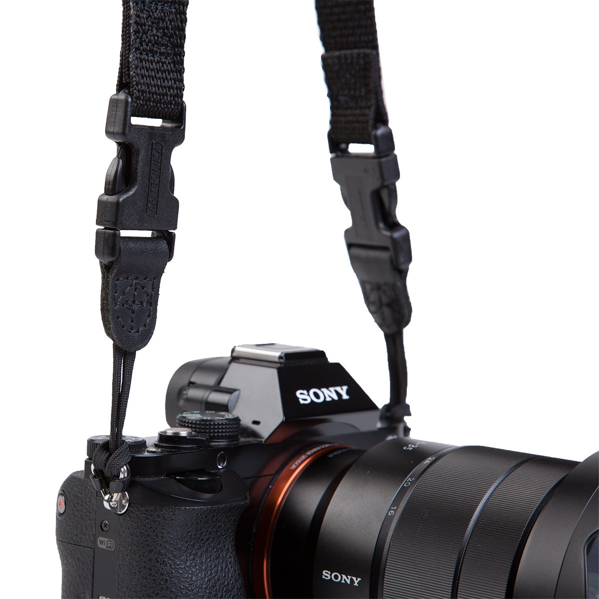 Black OP//TECH USA 1001062 Super Classic Strap-Uni Loop for Cameras and Binoculars-Neoprene