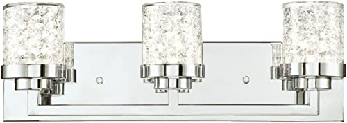 Westinghouse Lighting 6324200 Joliet Three-Light Indoor Wall Fixture