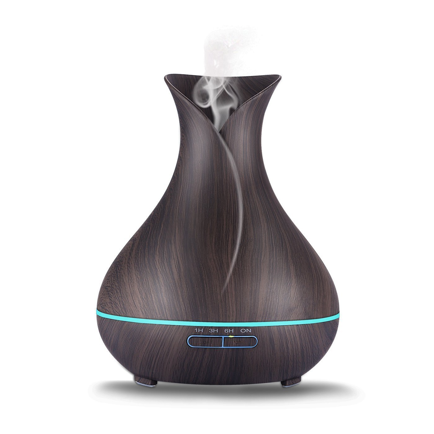 Wood Grain Humidifier & Essential Oil Diffuser (400ml)