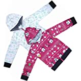 Lariyo Kids wear Cotton Fabric Hoodies or Sweatshirts Combo Set of 2