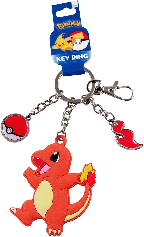 Pokemon Key Ring Accessory NEW Charmander Keychain