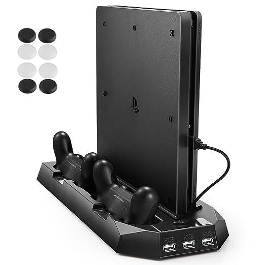 83 opinioni per ventola di raffreddamento per PS4 e PS4 SLIM, PECHAM Verticale Stand con Doppia
