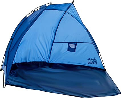 FREE SHIPPING!! Brand New in Carrying Bag LARGE Sun Shade Beach Cabana by WFS