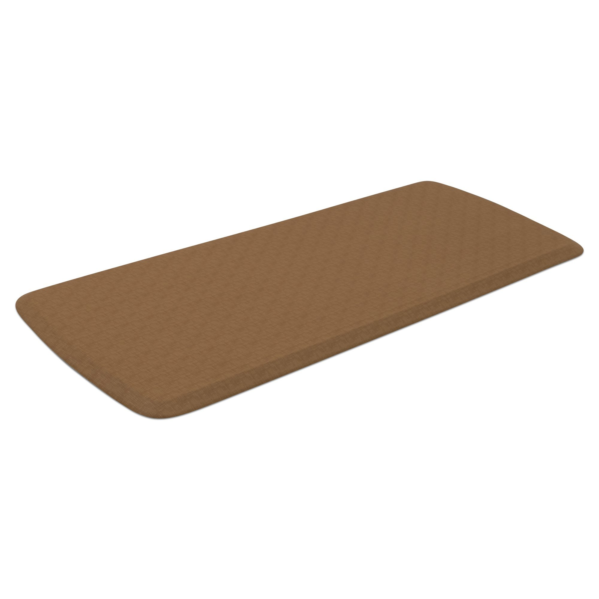 "GelPro Elite Premier Anti-Fatigue Kitchen Comfort Floor Mat, 20x48"", Linen Khaki Stain Resistant Surface with Therapeutic Gel and Energy-return Foam for Health and Wellness by GelPro (Image #2)"