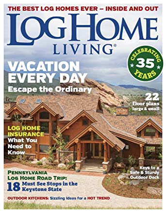 Living Home Zeitschrift log home living amazon com magazines
