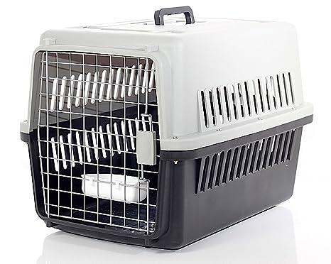 Transportín para perro y gato – IATA de viaje transporte coche homologado 66 x 47 x
