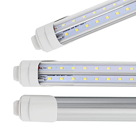 R17d 8 Foot Led Bulbs, T8 T10 F96T12 8ft CW/HO LED Tube Light ...