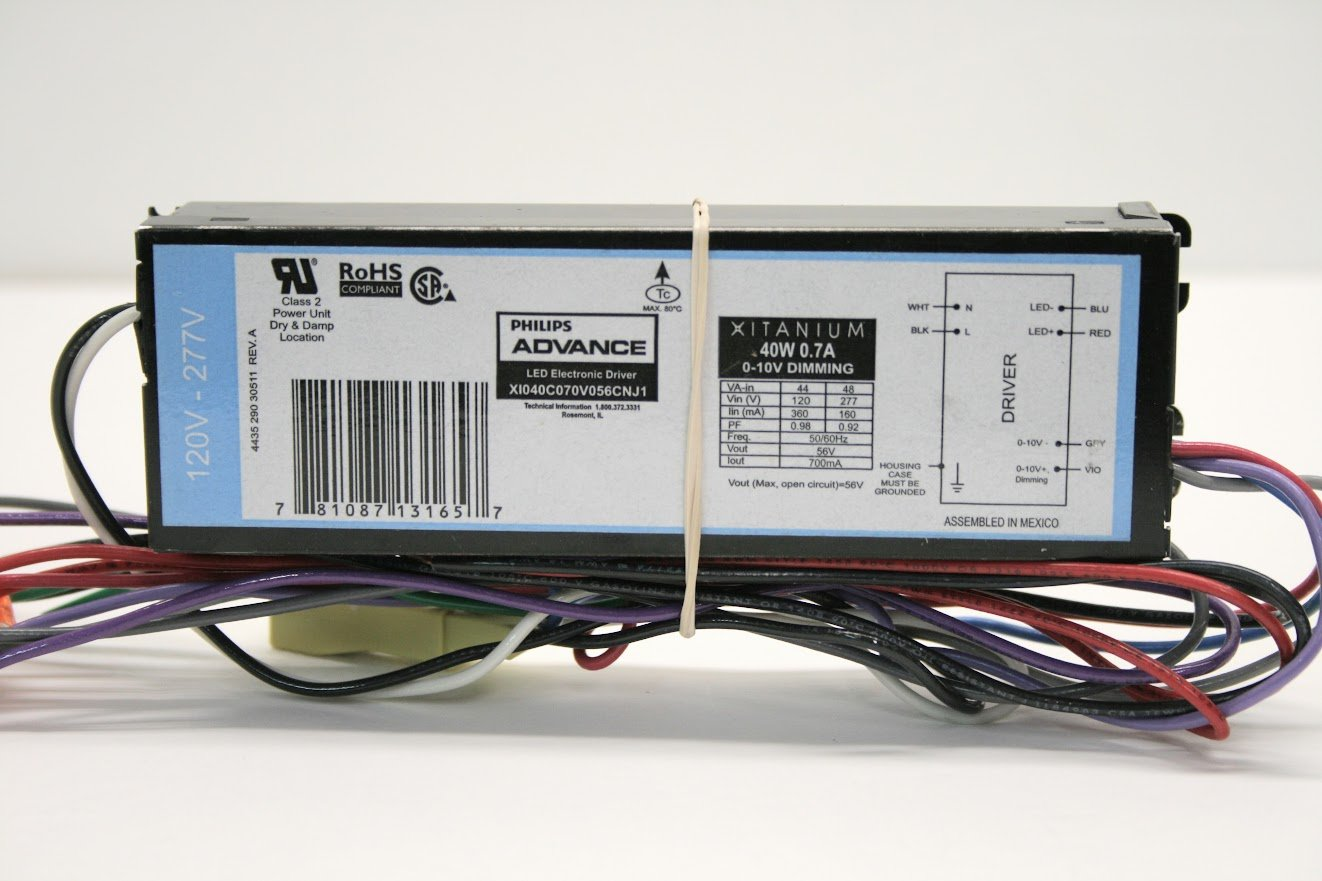 Xitanium Dimmable LED Driver, For Use With Solid-State Lighting Systems, 120 - 277 volt, 0.23 amp