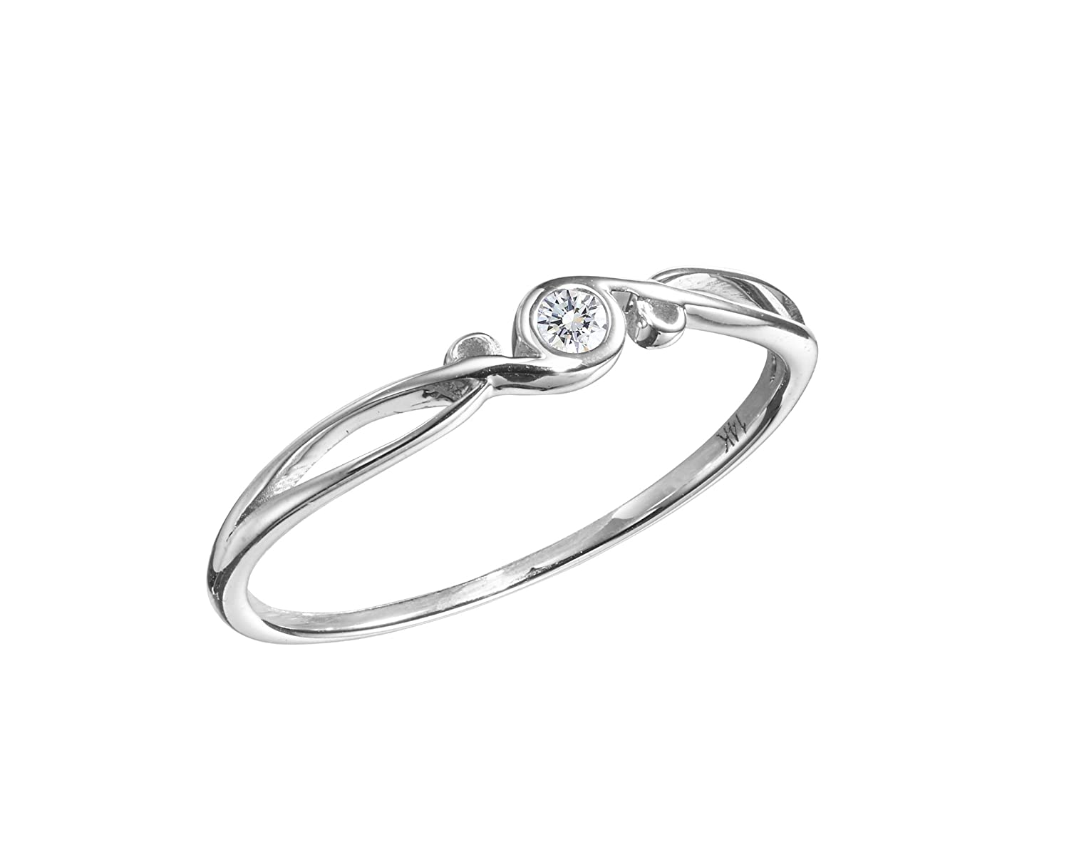 Alternative Wedding Rings.Diamond Engagement Ring By Majade White Gold Ring White Gold