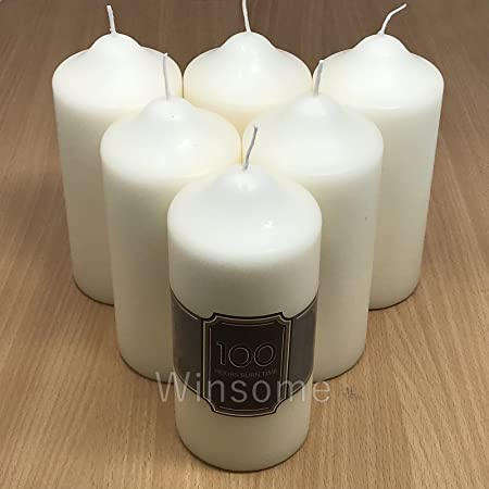 Ivory Price/'s Candles 6 Pillar Candle