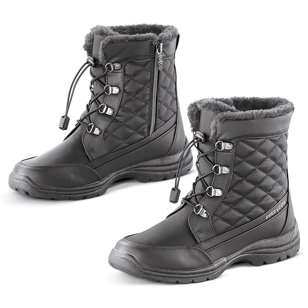 Women's Totes Waterproof Winter Boot, Black, 9