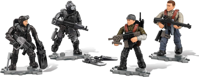 Mega Construx Call of Duty Seals Vs. Submariners, Multi Color