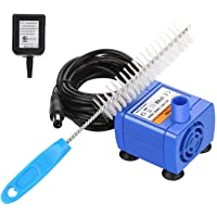 OWNPETS Brush Cleaning&Water Pump Kit for Pet Drinking Dispenser Cat and Dog Water Fountain, AC 12v~50HZ/60HZ,Suitable…