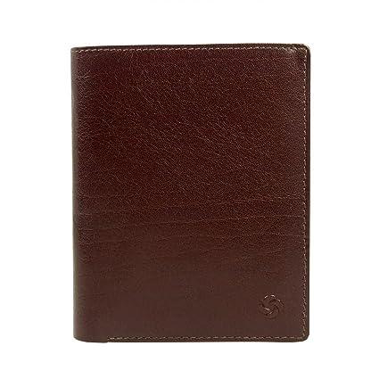 Samsonite Zefiro Monedero piel 10 cm marrón: Amazon.es: Equipaje