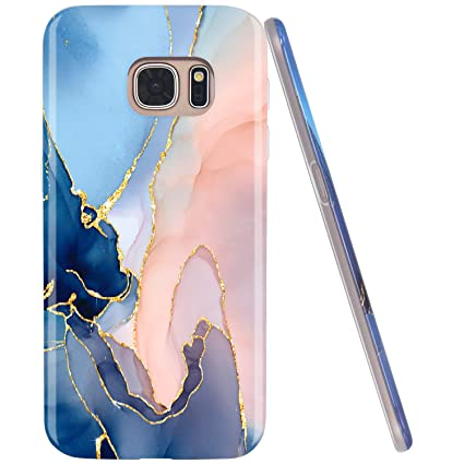 Amazon.com: JAHOLAN - Carcasa para Samsung Galaxy S7, diseño ...
