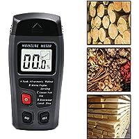 Détecteur de test d'humidité en bois de poche à bois LCD numérique de détection de testeur d'humidité pour bois de chauffage mesure d'humidité