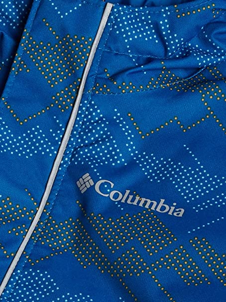 Columbia Boys Toddler Buga Set 4T Bright Indigo Dots Cape Print//Bright Indigo