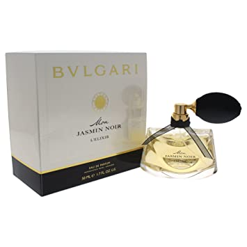 c964b95830a Image Unavailable. Image not available for. Color  Bvlgari Mon Jasmin Noir  L Elixir Eau de Perfume ...