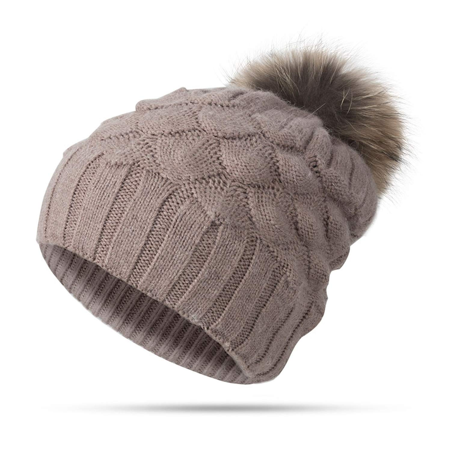 XINBONG Winter Women Girl Hat Beanies Warm Knitted Pompom Hat for Winter Female Warm Hat