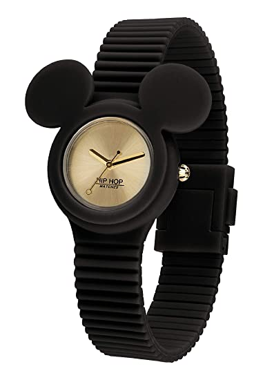 Orologio HIP HOP per donna MICKEY ICONIC con cinturino in silicone,  movimento SOLO TEMPO - 3H QUARZO