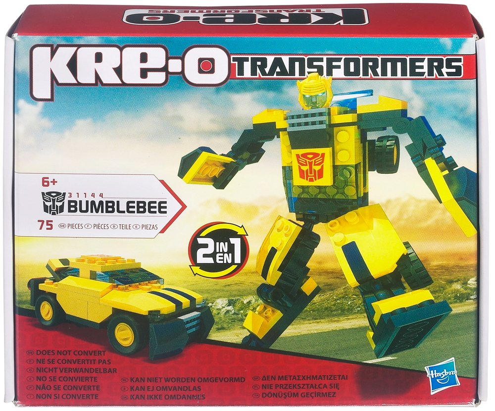 Hasbro Transformers Kre O Basic Bumblebee Toy Amazon Toys