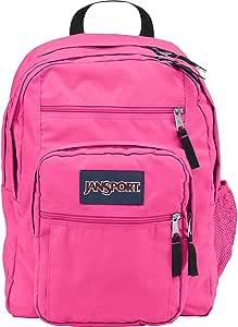 JanSport - Mochila para estudiantes, color rosa fluorescente